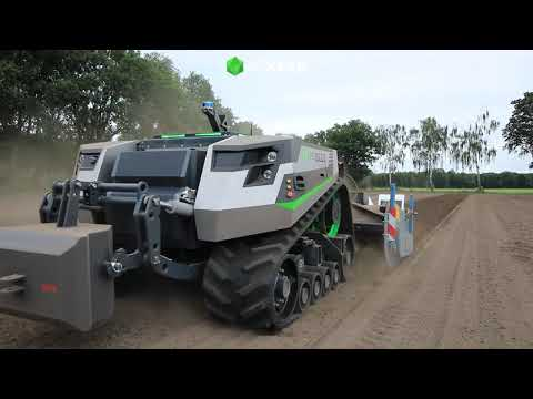 Introduction video Autonomous Agricultural Vehicle build by AGXEED. - YouTube