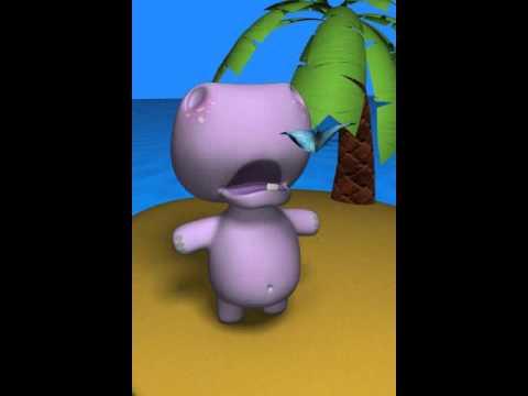 Funny,Fat,Hippo