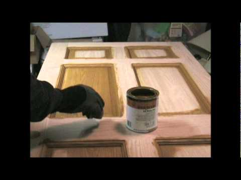 How To Stain And Polyurethane Youtube
