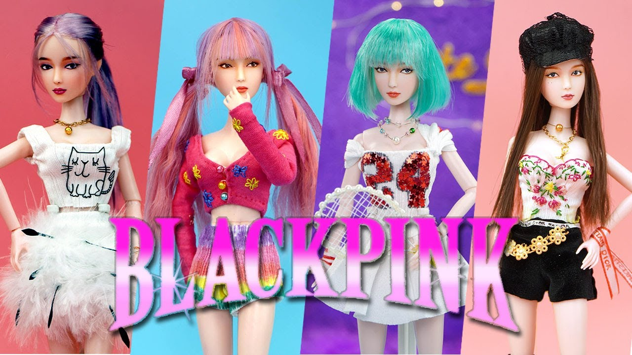 Stunning Makeover Transformation of Barbie ~ DIY Miniature Ideas for Barbie ~ BlackPink