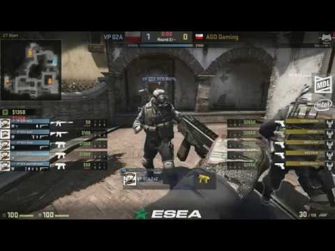 Virtus.pro vs AGO Gaming [cały mecz!] - Mountain Dew League - ESEA Premier 26 - Inferno - BO1