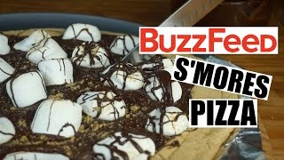 VEGAN S'MORES PIZZA  | BuzzFeed Remake | #veganized