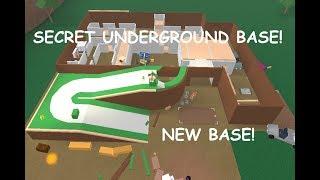 BUILDING A SECRET UNDERGROUND BASE! LUMBER TYCOON 2
