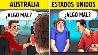 12 Comportamientos extraños que son normales en otros países