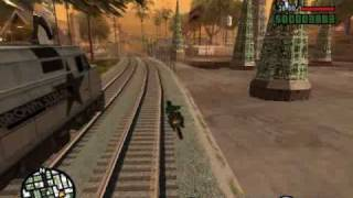 GTA: San Andreas: Mission 17-Wrong Side Of The Tracks
