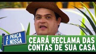 A Praça É Nossa (12/11/15) - Matheus Ceará reclama das contas de sua casa