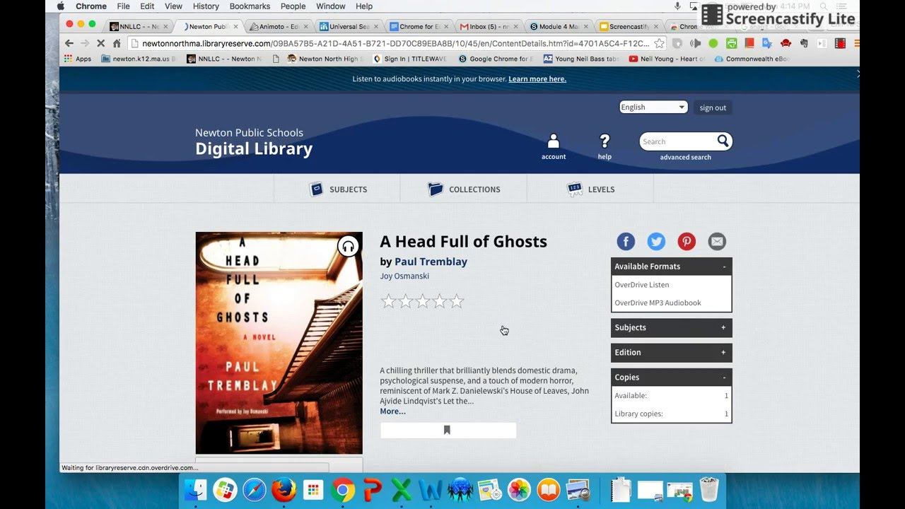 How To Find And Checkout Books And Audiobooks In Overdrive