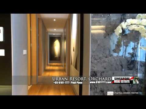 Urban Resort Condo For Sale, Singapore (New 4 Bedroom 2530 sqft Showflat)