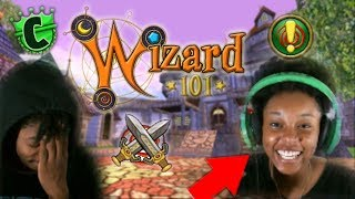 MY GIRLFRIEND PLAYS WIZARD101 (SHE LIKES IT?!)