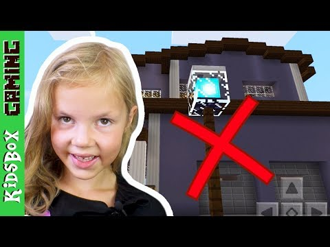 WHEN MOM IS AWAY - Destroying my Parents Mansion to build a Playhouse   ❑  Minecraft PE