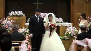 20130317在城中教會婚禮新娘王柔蘋的見證,.....感人的見證,有笑點也有催...