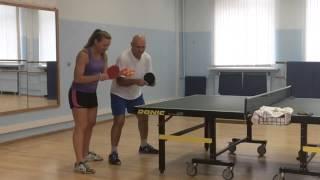 Table Tennis Training. Тренировка По Настольному Теннису
