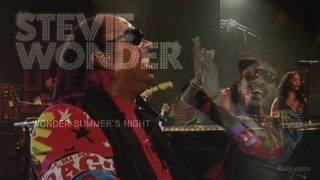 Stevie Wonder: Live at Last: A Wonder summer's Night