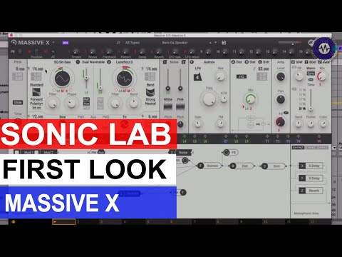First Look: Massive X From Native Instruments