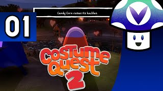[Vinesauce] Vinny - Costume Quest 2 (part 1) + Art!
