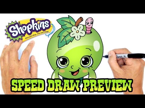 Apple Blossom (Shopkins)- Speed Draw Preview