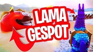 SEASON 5 TEASER + FORTNITE LAMA EN TOMATO HEAD in DE ECHTE WERELD!!