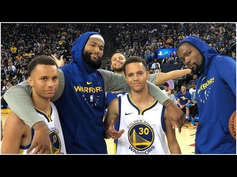DeMarcus Cousins Brings Two Steph Curry Look-Alikes During Practice (VIDEO)