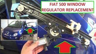 Window Regulator Clip Front; Right for Fiat Fiorina