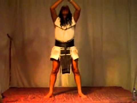Ac Tah teaches movement based on Mayan Mysteries