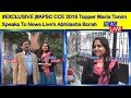 #APSC CCE 2016 Topper Maria Tanim speaks to News Live