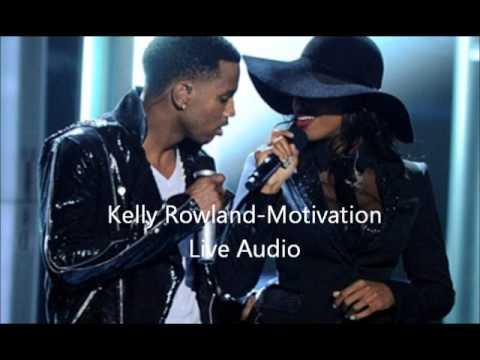 Kelly Rowland Motivation (Live Audio)