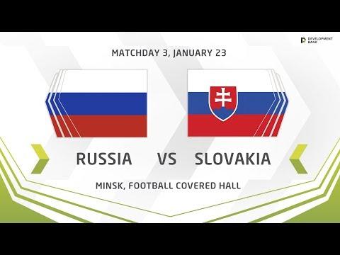 Development Cup - 2018. Russia - Slovakia