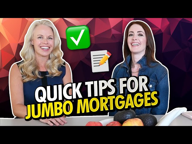 Tips On Jumbo Loans & Appraisals - What You need To Ask Your Mortgage Lender About Jumbo Mortgages 📝