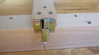 Easel Assembly in HD Part 3 - Detailed View of Adjustable Height Mechanism