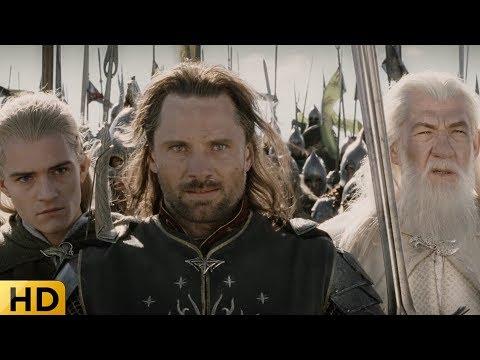 Финальная битва у врат Мордора. Властелин колец: Возвращение короля.