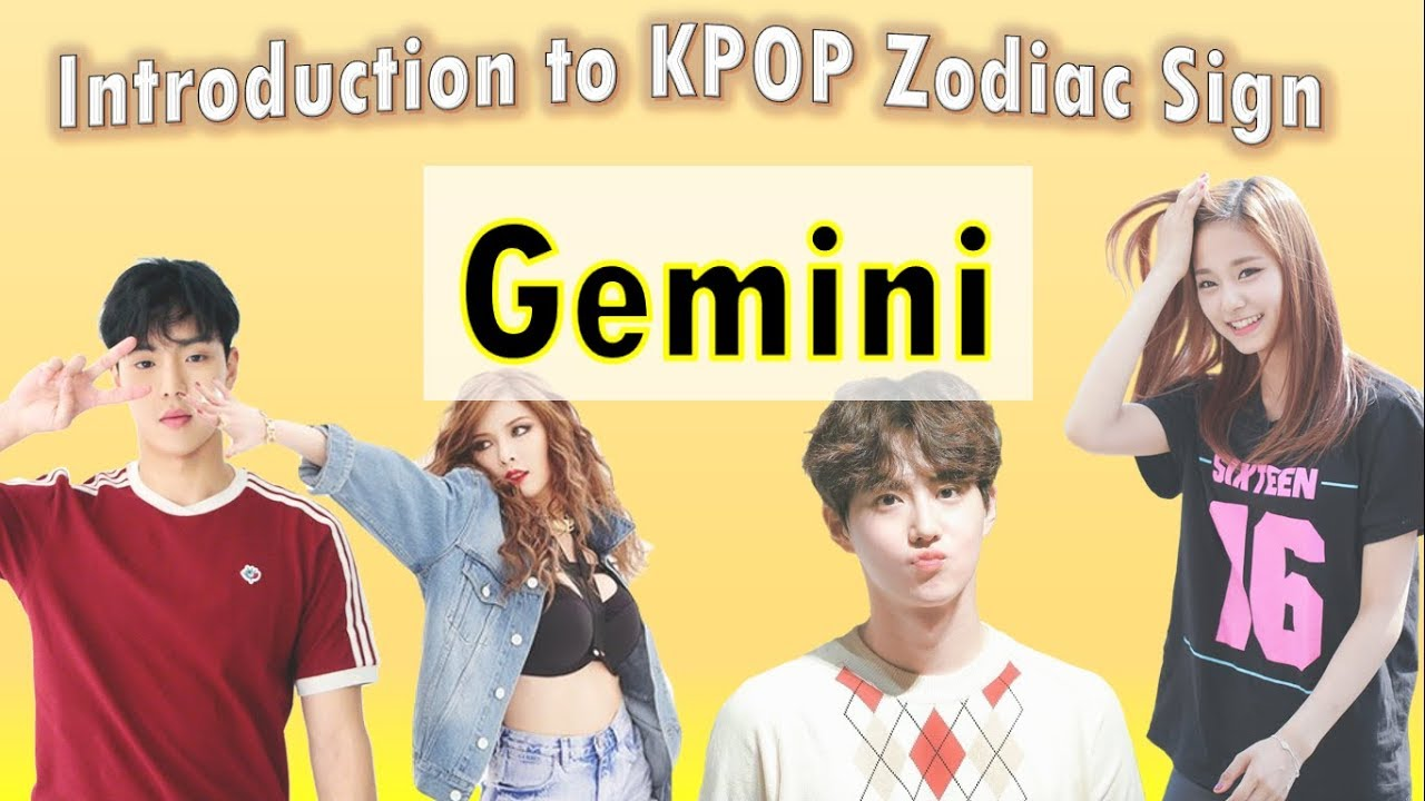 A Guide To The Gemini Line In Kpop Youtube
