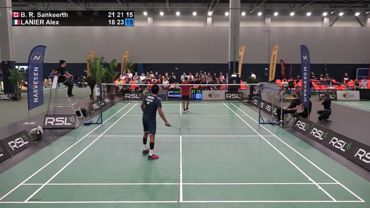 Download Match point - B. R. Sankeerth vs Alex Lanier - Final, MS, Lithuanian Int. 2021