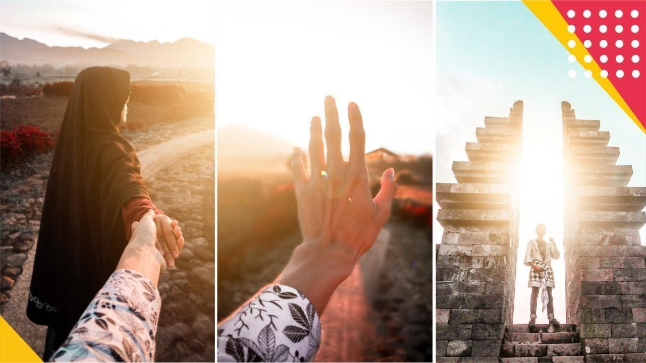 Cara Membuat Efek Flare Cahaya Matahari Pada Foto Lewat Hp Ayo Tingkatkan Skill Editingmu Youtube
