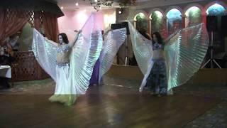 """Танцевальная студия """"Dance Deluxе"""" танец с крыльями"""
