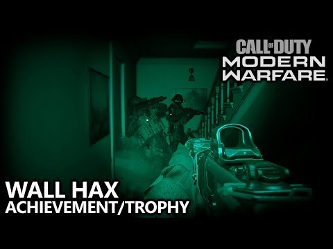 Call Of Duty Modern Warfare - Wall Hax Achievement/Trophy Guide - Save Alpha 3-2 From Being Downed