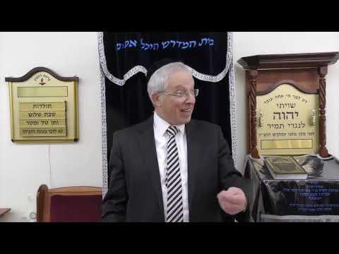 הרב מרדכי נויגרשל   מיתת שרה ורעיון משמעות ה 400