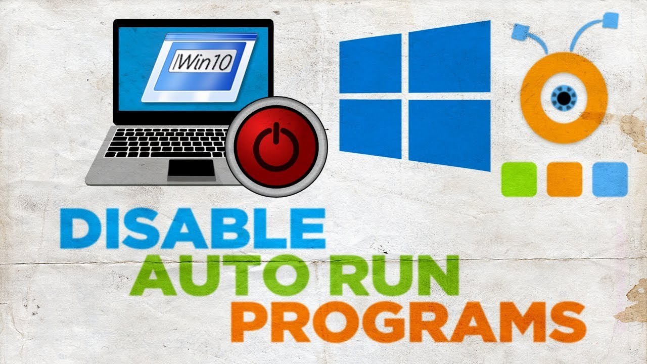 How to disable autorun programs 28