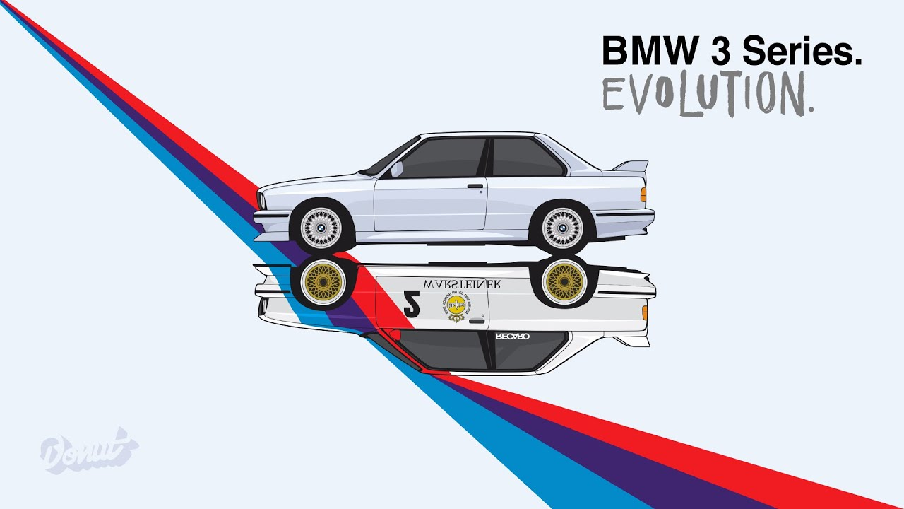 The Evolution Of The Bmw 3 Series Donut Media Youtube