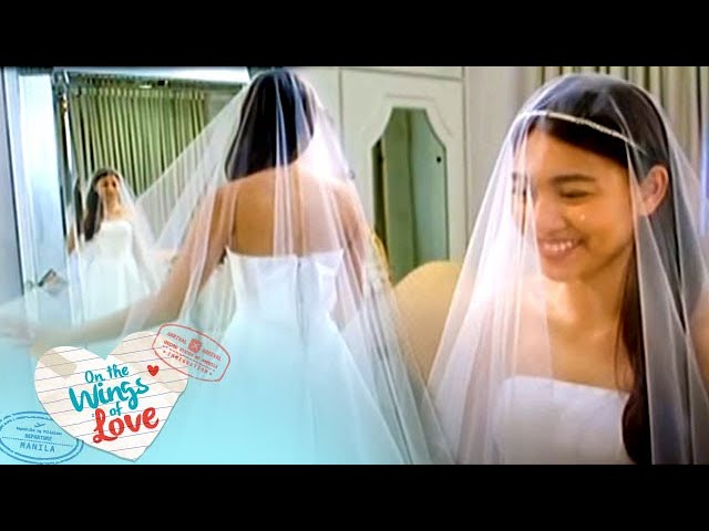 On The Wings Of Love: Wedding Dress