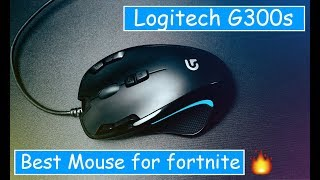 Logitech G300s Gaming Mouse Review | Fortnite Mouse ?