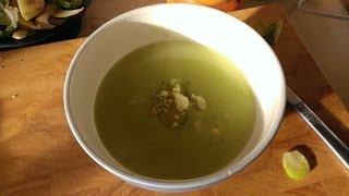 Brussels Sprout And Stilton Soup