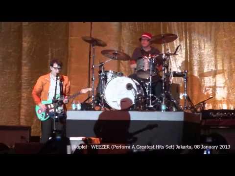 [HD] Weezer - Heavy Rotation & Island In The Sun (Live In Jakarta)