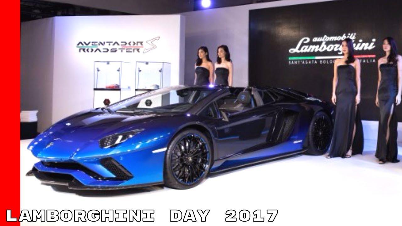 Lamborghini Day 2017 In Tokyo Japan