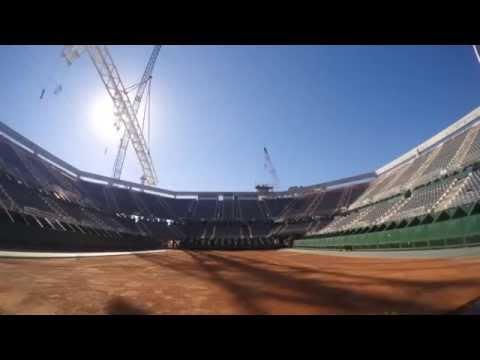 """<h3 class=""""list-group-item-title"""">Avanza el techado del Estadio del Parque Roca</h3>"""