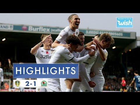 Highlights | Leeds United 2-1 Blackburn Rovers | 2019/20 EFL Championship