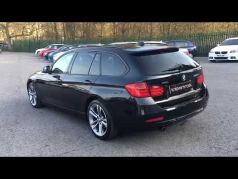bmw 318d sport xdrive touring youtube. Black Bedroom Furniture Sets. Home Design Ideas