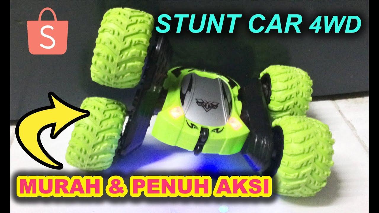 KERETA REMOTE CONTROL STUNT CAR | AKSI MENGGILA CRAZY STUNT | KERETA RC MURAH | CRAZY STUNT CAR