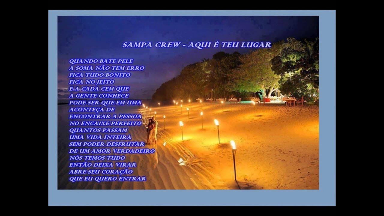 SAMPA CREW - AQUI É TEU LUGAR (vídeo com letra) LANÇAMENTO