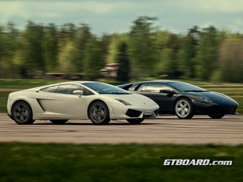 Hd Murcielago Lp640 Vs Lp560 4 Gallardo Gtboard Com Youtube
