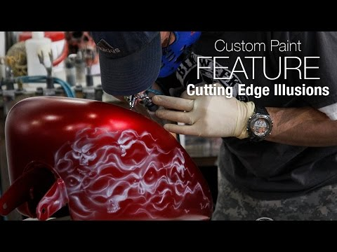 Cutting Edge Illusions – Custom Paint Feature - MotoUSA